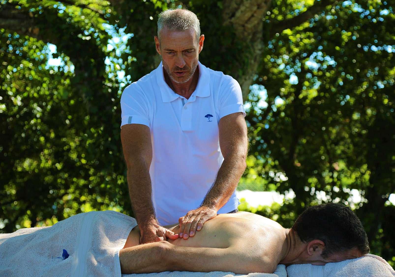 massage à domicile grasse