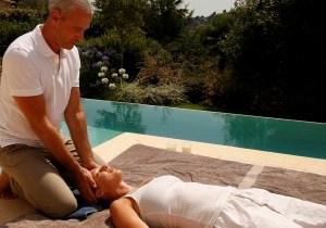 massage à domicile ambiance spa cannes