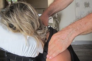 massage épaules nice