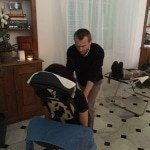 sitting massage for party valbonne