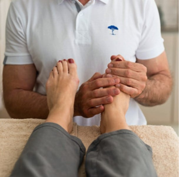foot reflexologie blue tree massage vence