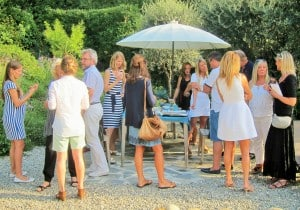 afternoon party with massage st paul de vence