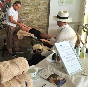 massage relaxant superyacht show monaco vip