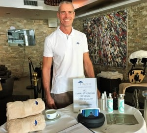 massage for show, event monaco, antibes, cannes