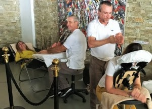 massage événement yachting monaco
