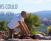 antistress massage at home mougins