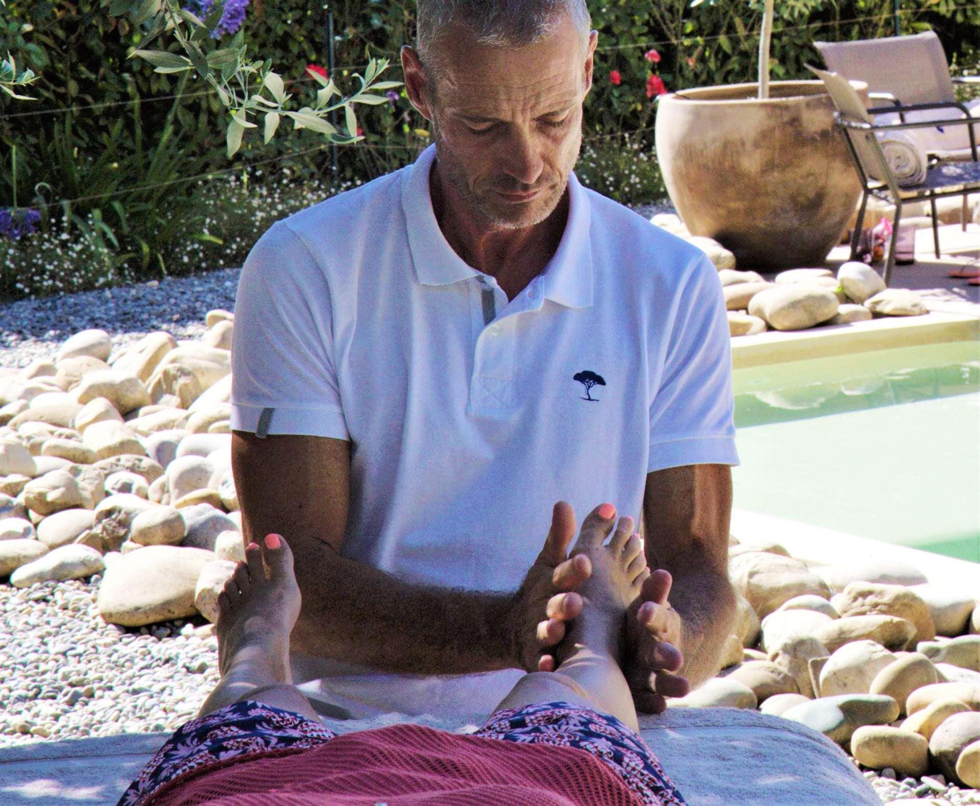 massage pieds mougins