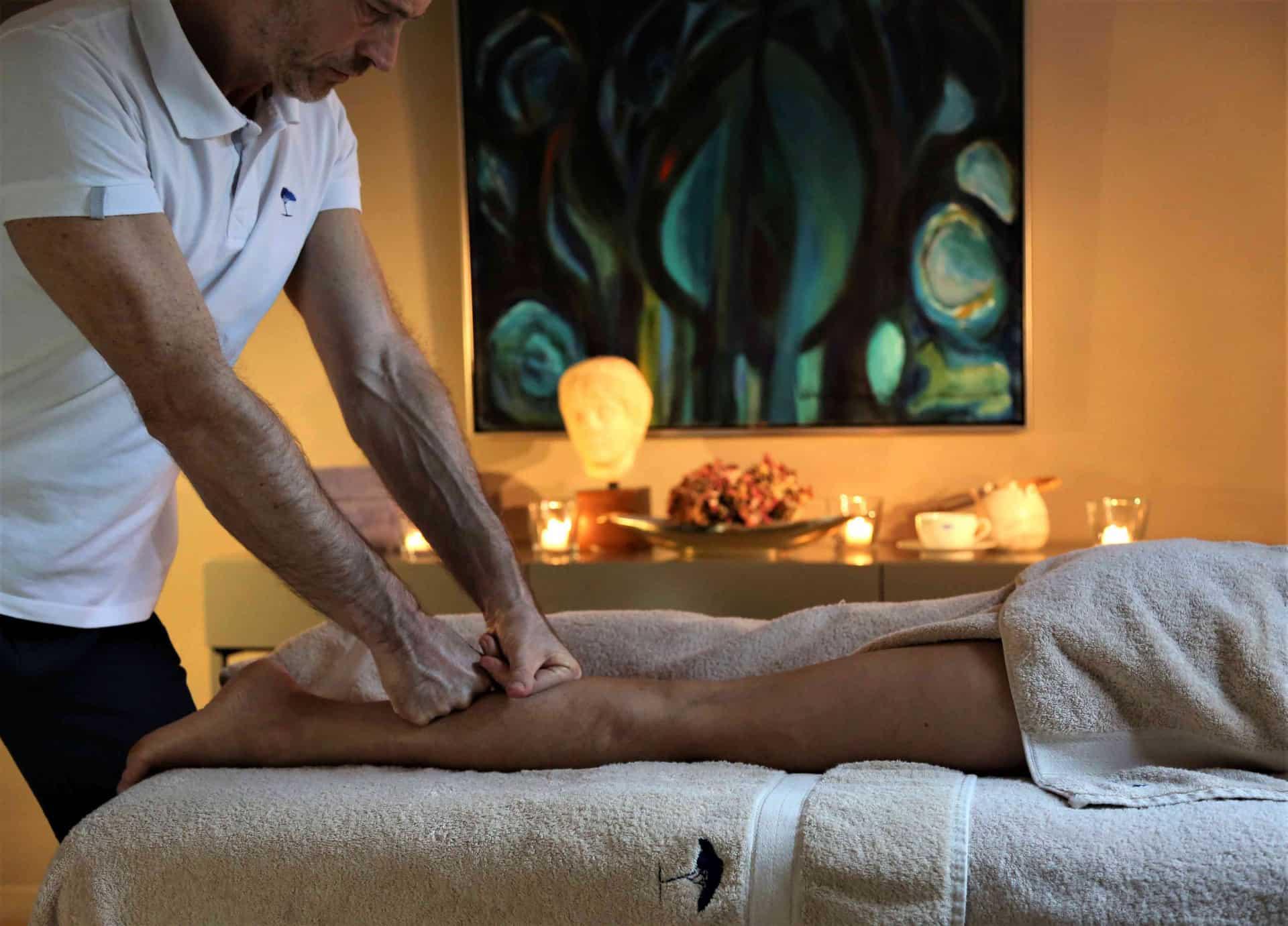 massage sportif à domicile mougins