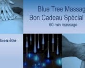 blue tree massage bon cadeau noel